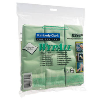 Microfibre green cloths Kimberly Clark WYPALL 24 pcs