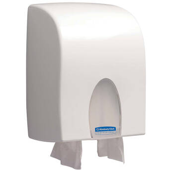 Folded paper towels dispenser Kimberly Clark DUAL