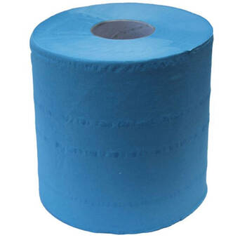 Roll paper towel blue cellulose Merida TOP MAXI