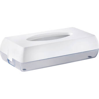 Toilet tissue dispenser white