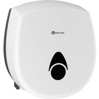 Toilet paper dispenser Merida COMO white plastic