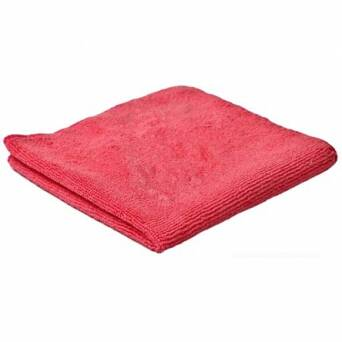 Microfibre Cloth Red Clean