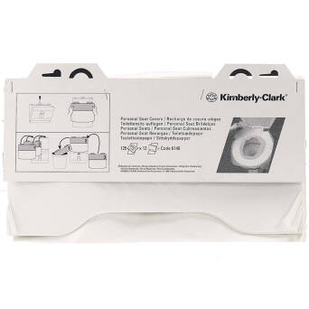 Disposable toilet seat covers Kimberly Clark PROFESSIONAL 125 pieces