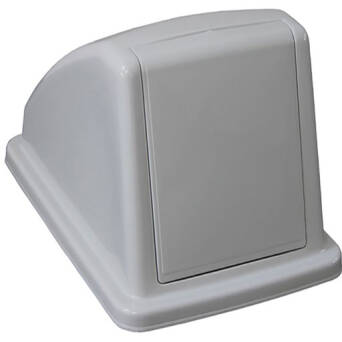 Bin lid for waste bin 60l with hinged lid