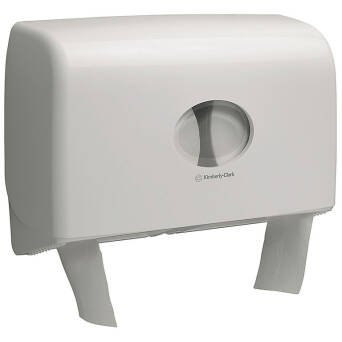 Toilet paper holder for two mini jumbo rolls Kimberly Clark AQUARIUS
