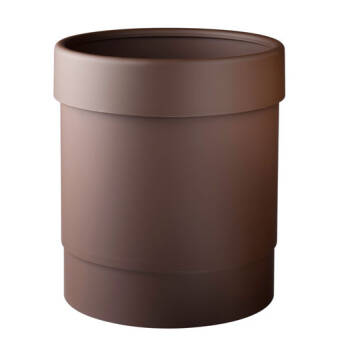 Trash bin 13l brown