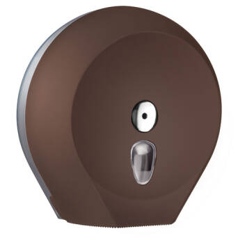 Toilet paper dispenser L brown
