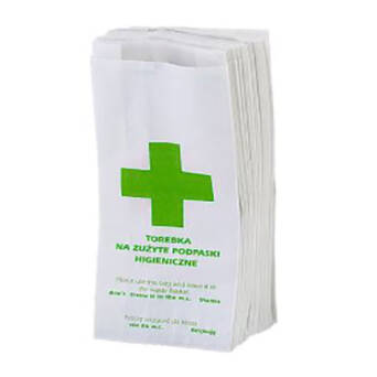 Sanitary bags to womans toilets 100 pieces Bulkysoft