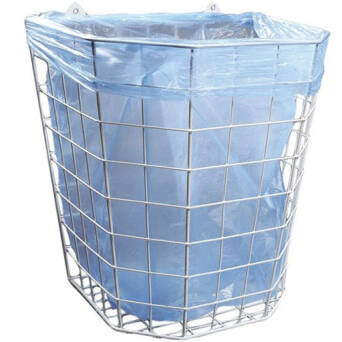 Grill basket for used paper towels 22l