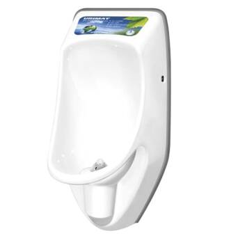 Waterless urinal Urimat Compact Plus