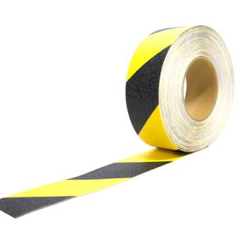 Non-slip tape black and yellow 18,3 m COBA europe