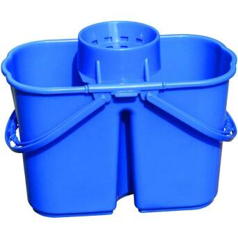 Dual Chamber Bucket Blue