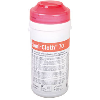 Sani- Cloth 70 wipes for disinfection in tube
