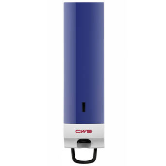 Compact foaming soap dispenser blue