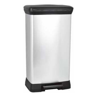 Trash bin with pedal 50 litres Curver