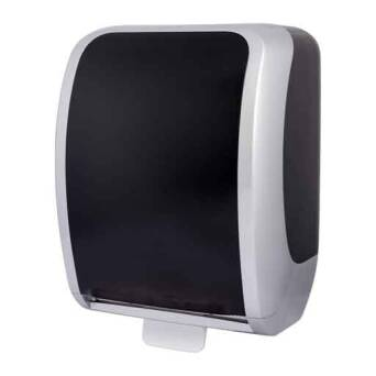 Hand towel dispenser Cosmos autocut black and silver