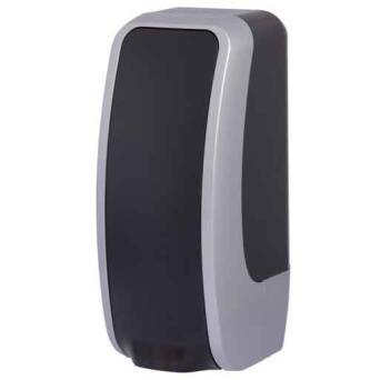 Foam soap dispenser Cosmos 1l black and silver