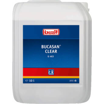 Bucasan® Clear sanitary routine cleaner  10l