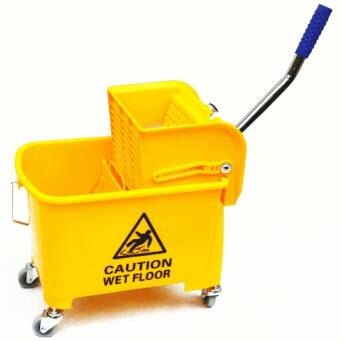Single Bucket Cleaning Trolley 20 l