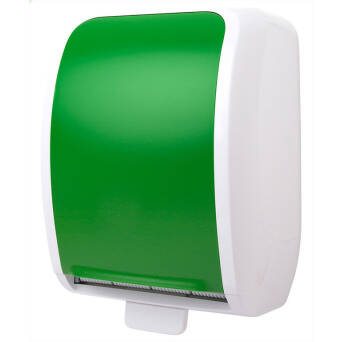 Roll paper towel dispenser Cosmos green