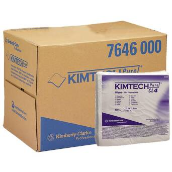 Low-lint folded wiper Kimberly Clark KIMTECH PURE