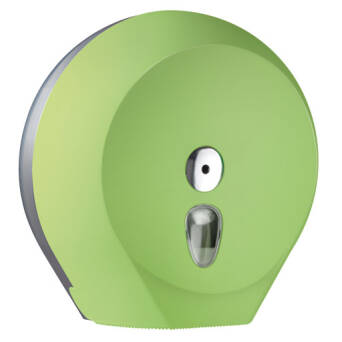 Toilet paper dispenser L green