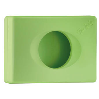 Sanitary bags dispenser green