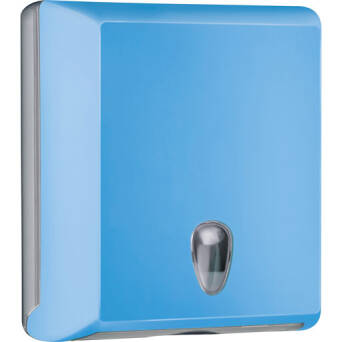 Folded paper towel dispenser M blue
