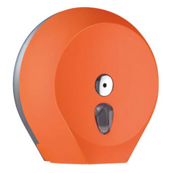 Toilet paper dispenser L orange
