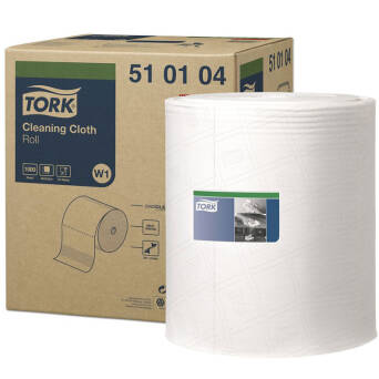 Multipurpose cloth roll Tork Premium 510 White W1