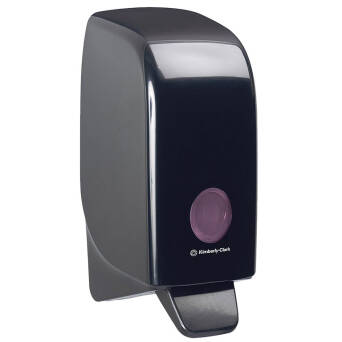 Soap dispenser black 1 L Kimberly Clark AQUARIUS