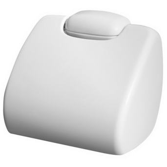 Toilet paper holder with cover Bisk Oceanic