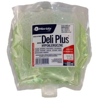 Foam Soap Merida Deli Plus cartridge 880 ml