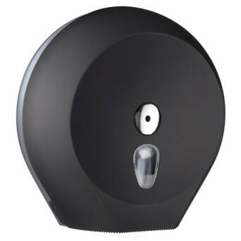 Toilet paper dispenser L black